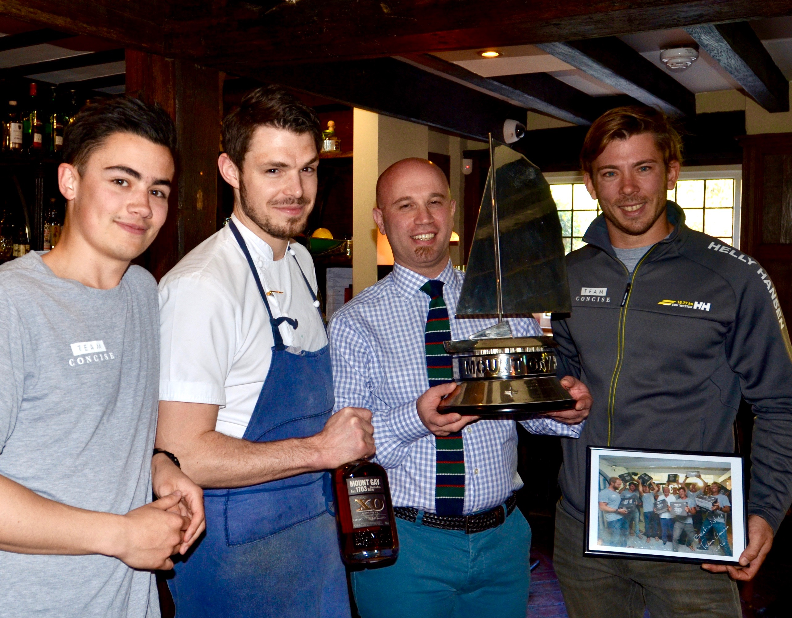 Jack Francis (Team Member), Graham Squire (House Chef), Gennaro Effuso (House Manager), Ned Collier Wakefield (Captain)